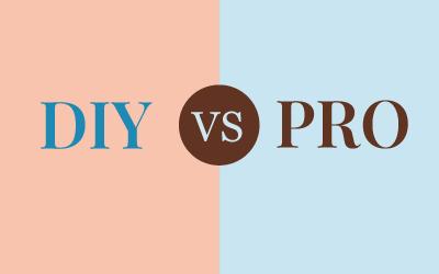 DIY vs PRO